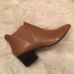 Metaphor Shoes - Chelsea Heeled Ankle Booties (New without tags)